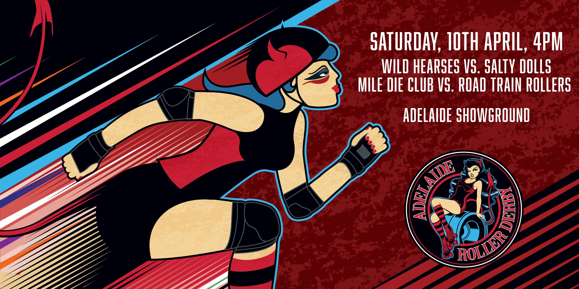ADELAIDE ROLLER DERBY 2021 SEASON KICKS OFF APRIL 10 WITH AN EPIC DOUBLE HEADER